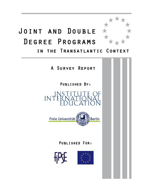 Collaborative Teaching Degree ~ Us european academic collaboration via transatlantic joint