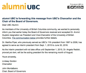 UBC Leadership Alum